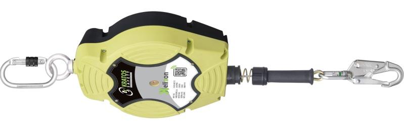KRATOS FA2040220 Visszahúzható zuhanásgátló